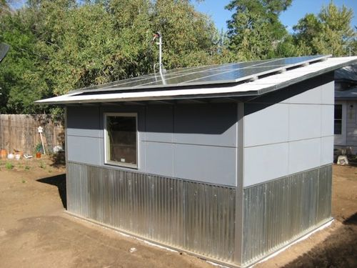 Solar Shed 4
