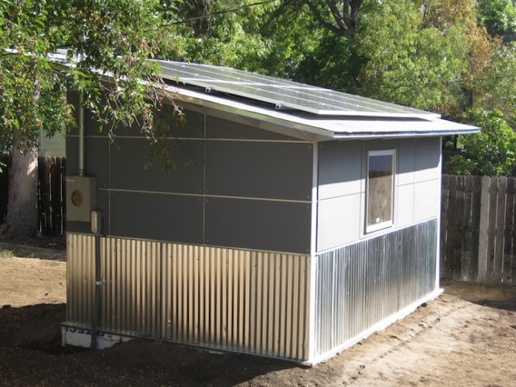 Chuck Newton Is There A Solar Powered Shed In Your Future